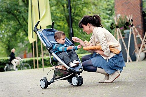 Quinny Zapp, Kinderwagen Buggy Kombiset mit Maxi-Cosi Babyschale erweiterbar, superleicht und kompakt, bis 15 kg, rocking black - 9