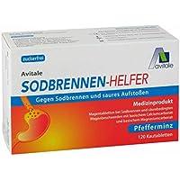 Avitale Sodbrennen Helfer Kautabletten gegen Sodbrennen und saures Aufstoßen mit frischem Pfefferminz-Aroma, 120... preisvergleich bei billige-tabletten.eu