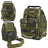 INFANTRY® Armee Taktisch Kampf Dienstprogramm Schulter Reise Zip Tasche Pack Camo Jagd