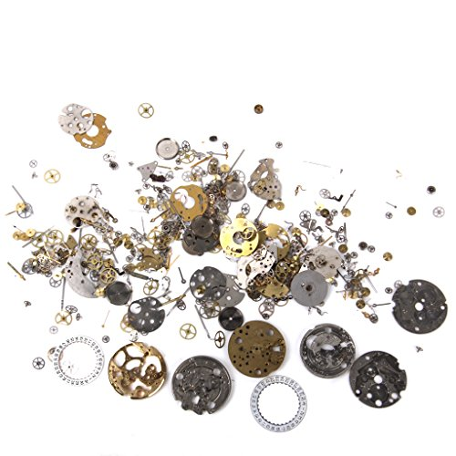 Steampunk DIY Uhr Reparatur Teile Gears Schmuck Kunsthandwerk Kunst Zahnräder Räder