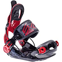 SP United Kinder snowboardbindung Jr Rojo negro