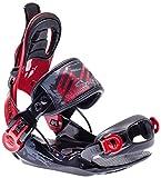 SP United, Attacchi Snowboard per Bambini JR, Nero (Schwarz), S