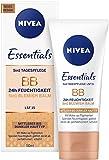 Nivea BB Cream 5-in-1 Getönte Tagespflege für mittlere bis dunklere Hauttypen, 1er Pack (1 x 50 ml)