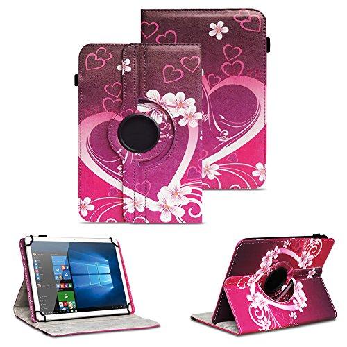 NAUC Tablet Tasche Schutzhülle Telekom Puls Tablet Hülle Tab Cover Case Universal, Motiv:Motiv 2
