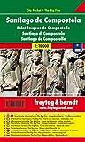 Freytag Berndt Stadtpläne : Santiago de Compostela 1:10 000 - Freytag-Berndt und Artaria KG