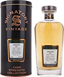 Signatory Vintage Longmorn 15 Years Old Cask Strength Collection mit Geschenkverpackung 2002 Whisky (1 x 0.7 l)
