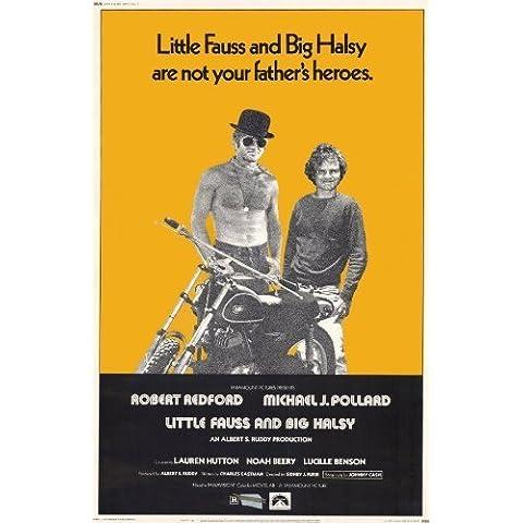 Little Fauss and Big Halsy Poster Movie 11x17 Robert Redford Michael J. Pollard Lauren Hutton by
