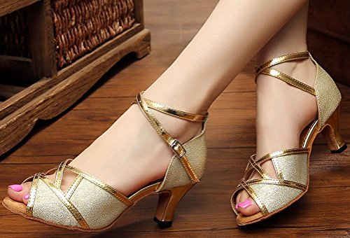 CFP ,  Damen Dance Sneakers Gold