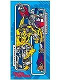Original Transformers 3 Dark of the Moon Badetuch/ Strandtuch/ Handtuch / Duschtuch 140x70 Baumwolle Optimus Pirme und Bumblebee NEU 2012