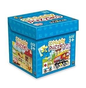 King International 4701-Puzzle Box 10diseños Vehículos