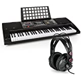 Schubert Etude 450 USB Teclado de aprendizaje con auriculares de estudio • Piano de 61 teclas luminosas • Reproductor MIDI USB • 460 registros, 260 ritmos, 65 canciones demo • Función de grabación • Inteligente función de aprendizaje