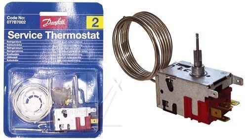 Danfoss 077b7002 Kühlschrank-Thermostat Nr. 2 1 Tür mit Druckschalter