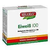 Megamax Eiweiss Neutral. Molkenprotein + Milcheiweiß Eiweiß Protein mit Biologischer Wertigkeit ca. 100. Für Muskelaufbau und Diaet. Inhalt: 7 x 30 g