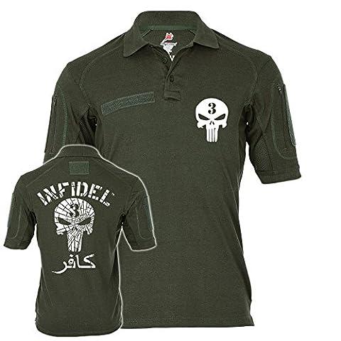 Tactical Poloshirt Alfa American Sniper Infidel Scharfschütze Navy Seals Kafir