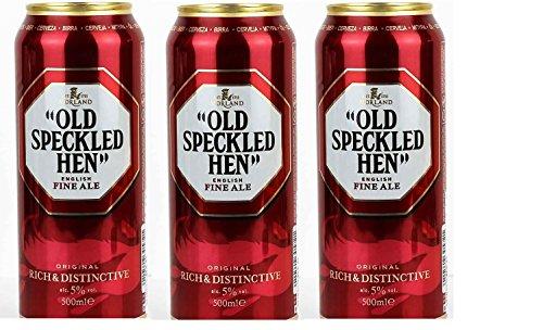 Preisvergleich Produktbild 6 Dosen Old Speckled Hen English Fine Ale a 500ml Alkoholgehalt 5, 0% Vol.inc DPD Pfand