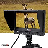Anself Viltrox DC-70EX 4K Porfessional Portable 7 Inch HD Clip-on Camera Video LCD Monitor Support 4K Signal Input 1024 * 600 Resolution