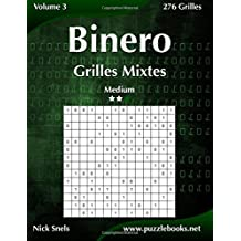 Binero Grilles Mixtes - Medium - Volume 3 - 276 Grilles