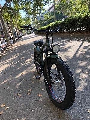 """Marnaula Monster 26 Limited Edition - Ist Das Fat eBike - Rahmen Alu Hydro TB7005 - Vorderfederung - Räder 26"""" - Shimano Alivio 6-SP - Shimano Alivio 14-28 Zähne - Hydraulische Bremsen"""