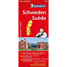 Schweden (Michelin Nationalkarte)