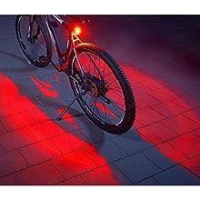 FISCHER Twin Fahrrad-Rücklicht, Fanale posteriore. Unisex -Adulto, Nero, Taglia unica