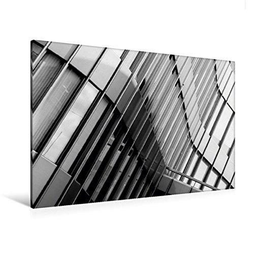 Premium Textil-Leinwand 120 cm x 80 cm quer, Zürich, UBS | Wandbild, Bild auf Keilrahmen,...