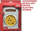 GFLEX 2PIN FLEX BOX 5 MTR CABLE WITH HANDLE, INDICATOR & INTERNATIONAL SOCKET.[GM 3047] [MIX COLOR - VARIABLE] [AUTHORISED RE-SELLER : EMYAS ELECTRIC STORES]
