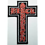 Black Sabbath 6.5x10 cm Iron on Patch / Embroidered Patch This Appliques Are Great for T-shirt, Hat, Jean ,Jacket, Backpacks. by Mocking Jayy