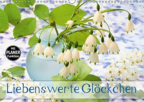 Liebenswerte Glöckchen (Wandkalender 2019 DIN A3 quer): Glockenblüten haben etwas Anrührendes (Geburtstagskalender, 14 Seiten ) (CALVENDO Natur)