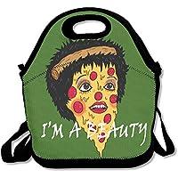 Preisvergleich für Lunchtasche für Kinder, Lunchtasche, Lunchbox, Lunchbox für Frauen, mit Gurt