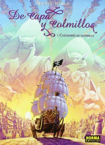 De capa y colmillos 7, Cazadores de quimeras Cover Image