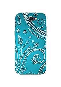 Samsung Note 2 Back Cover + Free Mobile Viewing Stand