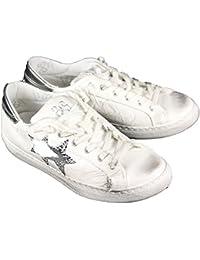 Herren Sneaker Blu Navy/Bianco, Blu Navy/Bianco - Größe: 43 2Star