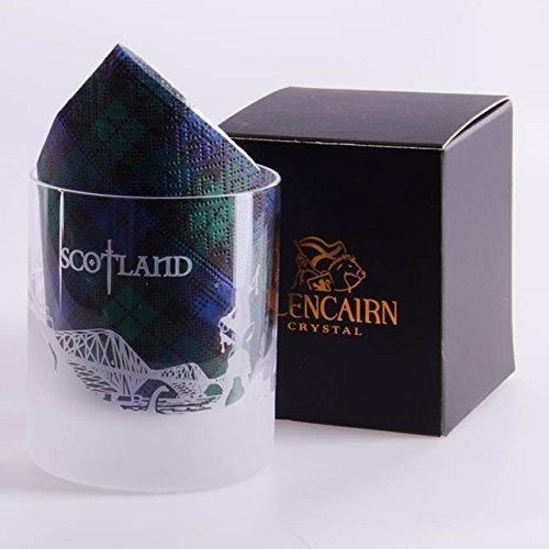 Glencairn Schottland Skyline Kristall Glas und Präsentation Box 17cl
