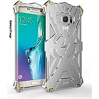 Galaxy S7Edge Custodia, Capy Simon Thor Custodia in alluminio per Samsung Galaxy S7Edge in metallo per casi (1-Pack Argento)