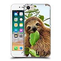 Head Case Designs Three Toed Sloth Famous Animals Hard Back Case Compatible for iPhone 7 / iPhone 8