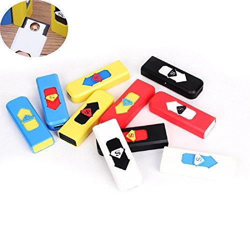 Original Chi-maschine (sinhan USB Ladekabel Feuerzeug winddicht USB wiederaufladbar keine Flamme Camouflage leichter, USB Feuerzeug)