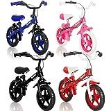 WHEELY Laufrad Kinderrad (MIT BREMSEN) / Fahrrad / Lernlaufrad in 3 verschiedene Farben