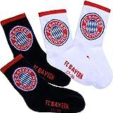 FC Bayern München Kinder Socken 2er-Set Gr. 23-26