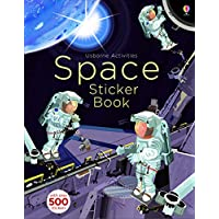 Space Sticker Book (Usborne Activity Books) (Sticker Books)