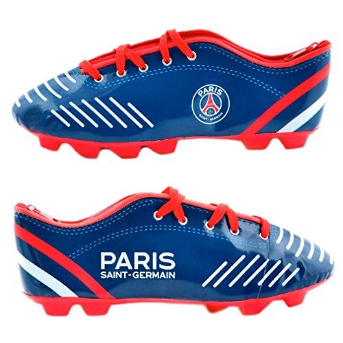 PSG - Trousse à Stylos Officielle 'Chaussure de Foot' - Bleu