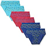 #9: Hanes Women's Cotton Panty (Pack of 6) (Colors and prints may vary)
