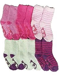 38c1182db37 Casa Socks Chaussettes enfant fille cocooning ultra confort - Modèle photo  selon arrivage (23