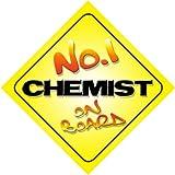 No. 1Chemist on Board segnale Auto nuovo lavoro/promozione/novità regalo/presente