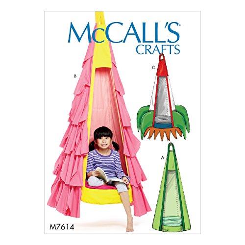 McCall's Patterns 1000000001299OS Kinder Hängesessel, mehrfarbig