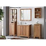 Mueble de baño Badmöbelset clásica de 60 cm con lavabo