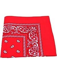 Hombre/Mujer Bandana Cabeza o cuello bufandas de cachemira 100% algodón