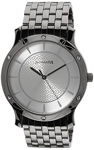 51BIqkDO22L - Sonata 7107TM01 Multi Colour Mens watch