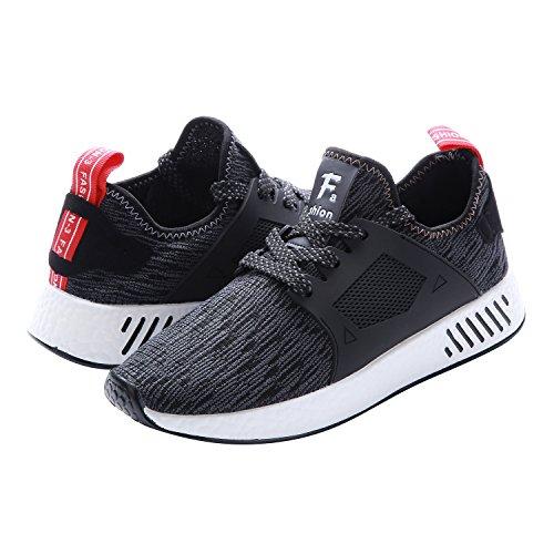 NEOKER Baskets Homme Chaussures de Sport Fitness Sneakers Légère Noir 39-44   4381e1c32c5