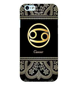 Fuson 3D Printed Sunsign Cancer Designer back case cover for Apple I Phone 6 - D4249