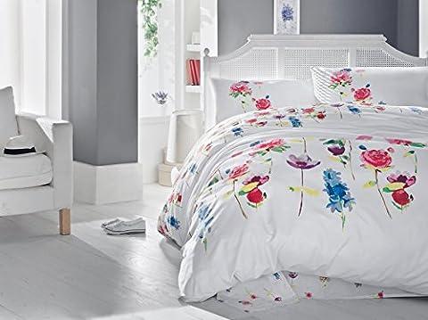 Spring 100% Cotton Duvet Cover Bedding Set in Luxury Box (King)